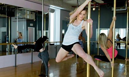 Up to 67% Off Pole Dancing Fitness Classes at Studio Chic