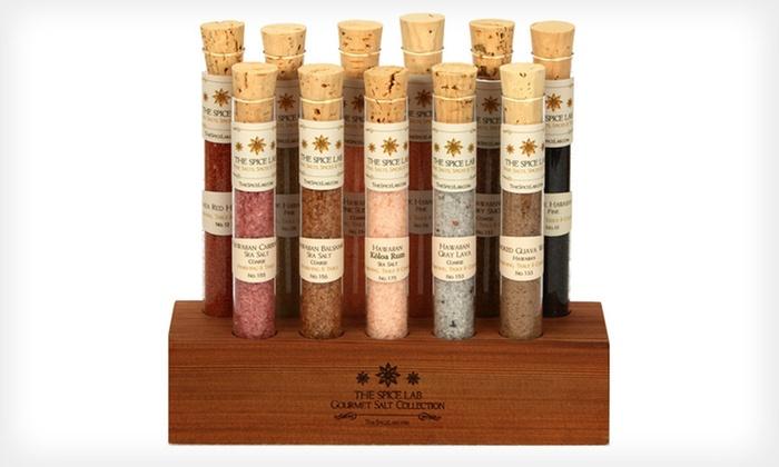 Aloha Sea-Salt Tasting Collection: $30 for The Spice Lab Aloha Sea-Salt Tasting Collection ($59.95 List Price). Free Shipping.