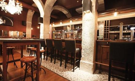 The George Pub — Baixa:menu de degustação de cervejas ou sidras de pressão com tapas para 2 ou 4 pessoas desde 22,90€