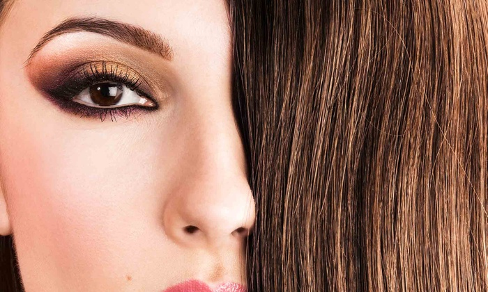 Shear Impressions - Saddle Bridge: One or Two Blowouts withGlobalKeratin Treatments at Shear Impressions (Up to 59% Off)