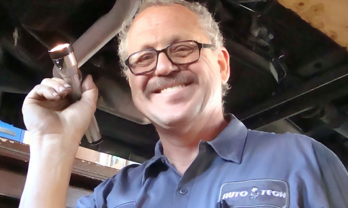 Auto Tech - Multiple Locations: One Oil Change or One Year of Unlimited Oil Changes at Auto Tech (Up to 71% Off)