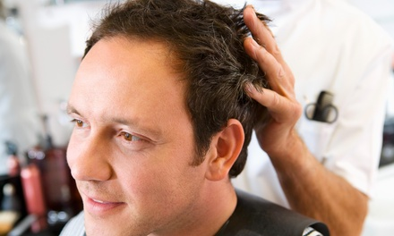 Four Men's Haircuts with Shampoo and Style from Centric Styles Salon  (67% Off)