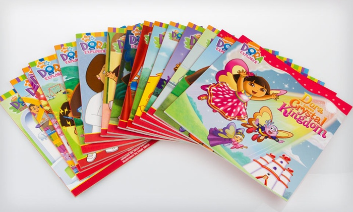 """Dora the Explorer"" 15-Book Collection: $24 for a ""Dora the Explorer"" 15-Book Collection ($104.25 List Price). Free Shipping and Free Returns."