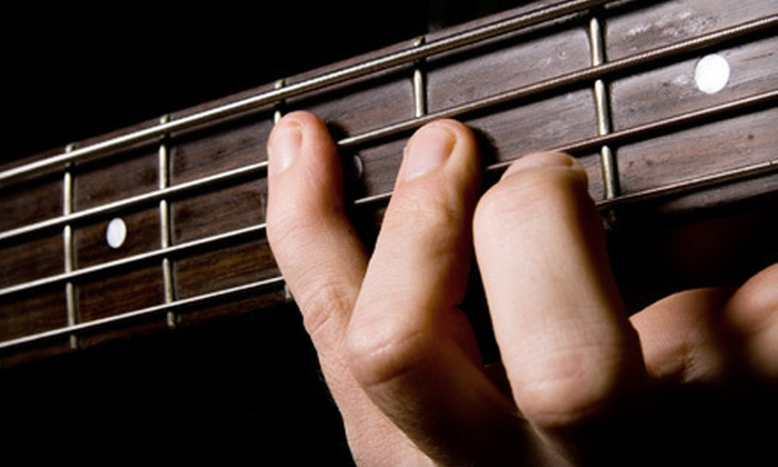 The Guitar Factory - West Seneca: Four Music Lessons with Option for Acoustic Guitar or $75 Instrument Credit at The Guitar Factory in West Seneca