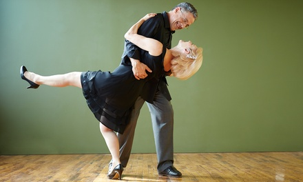 Four Intro Dance Classes and a Private Lesson for One or Two at Kalamazoo Ballroom Academy (Up to 63% Off)