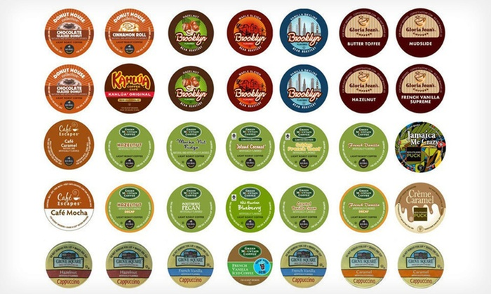 35-Count Sampler Pack of Assorted Single-Serve Coffee Cups: $28.99 for a 35-Count Sampler Pack of Single-Serve Coffee Cups ($44.95 List Price). Free Shipping.