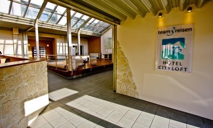 Mönchengladbach: 3 Tage für Zwei inkl. Frühstück u. 1 Flasche Sekt im T3 Hotel Cityloft Mönchengladbach