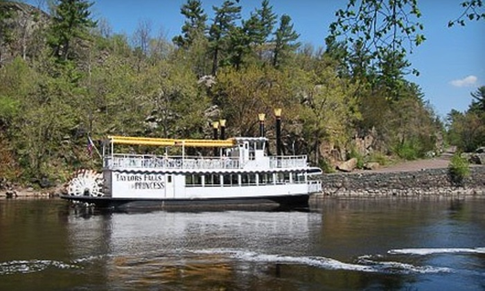 Taylors Falls Scenic Boat Tours - Taylors Falls: 80-Minute Scenic Riverboat Tour for Two or Four from Taylors Falls Scenic Boat Tours (Up to Half Off)