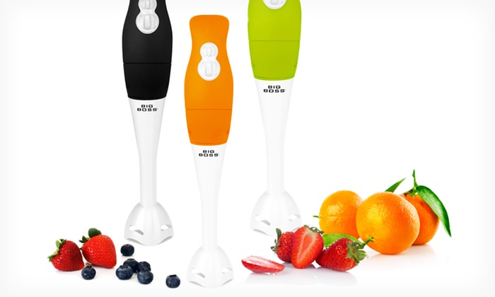 Big Boss Stick Blender: Big Boss Stick Blender. Multiple Colors Available. Free Shipping and Returns.