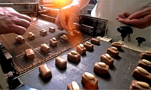 Kandy Factory: Chocolate and Truffle Making Workshop with Hot Drinks and Cake for One or Two at Kandy Factory