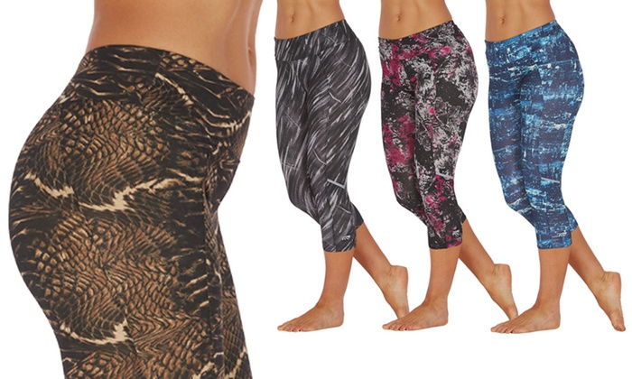 Slimming Capri Leggings