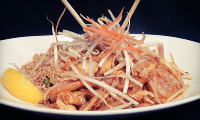 Sweet Basil Thai House - Mattydale: $12 for $25 Worth of Thai Cuisine and Drinks at Sweet Basil Thai House