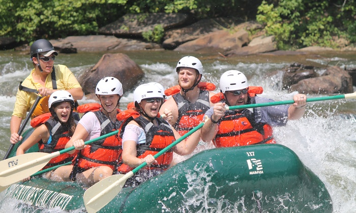 Adventures Unlimited - Ocoee: $29.95 for a Half-Day Ocoee River Adventure with Rental Gear from Adventures Unlimited($59.95 Value)