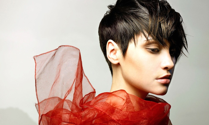 Salon 718 - Fort Greene: Haircut and Highlights Packages at Salon 718 (Up to 59% Off). Three Options Available.