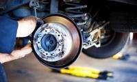 Austausch der Bremsbeläge und Bremsscheiben (1 Achse) für Fahrzeuge bis 200 PS bei Hansa-Autoreparatur (bis 54% sparen*)