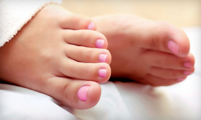 Adult & Pediatric Foot & Ankle Care - Historic Downtown: Laser Toenail-Fungus Removal for One or Both Feet at Adult & Pediatric Foot & Ankle Care in Jersey City (Up to 75% Off)