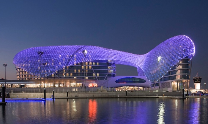 Breakfast, Lunch or Dinner Buffet with House or Soft Beverages for Up to Six at Yas Viceroy Hotel (Up to 60% Off)