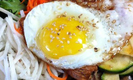 Korean Cuisine at Bop & Gogi - Korean Kitchen & Grill (40% Off)