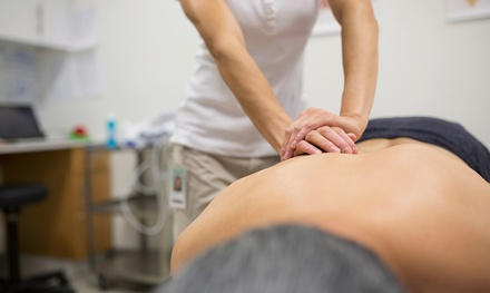 One or Three OneHour Sessions of Sports Massage at The Zone Health Fitness