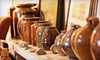 Miss Nancy's pottery studio - Byram: $49 for a Four-Class Pottery Mini Camp at Miss Nancy's ($100 Value)