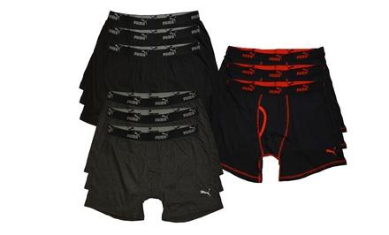 Puma Men's Boxer Briefs 3-Pack