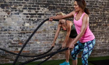 Five Group Fitness Classes or One-Month Unlimited Group Fitness Classes at Real Body Fit (Up to 81% Off)
