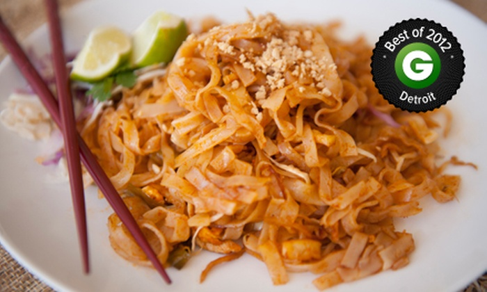 Bangkok Cuisine - Multiple Locations: $ 15 for $ 30 Worth of Thai Food at Bangkok Cuisine