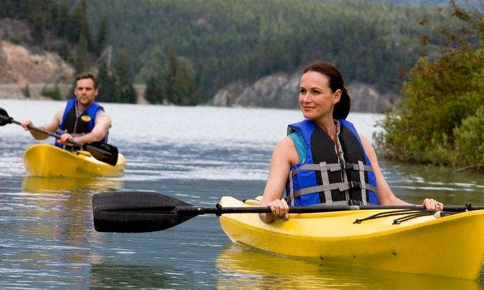 EMS Schools - Multiple Locations: Kayak Rental for One or Tandem-Kayak or Canoe Rental for Two from EMS Outdoor Schools (Up to 50% Off)