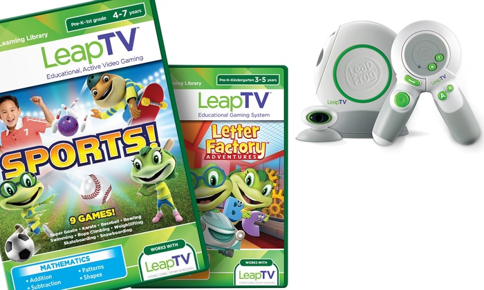 Up To 50% Off on LeapFrog LeapTV Gaming System | Groupon Goods
