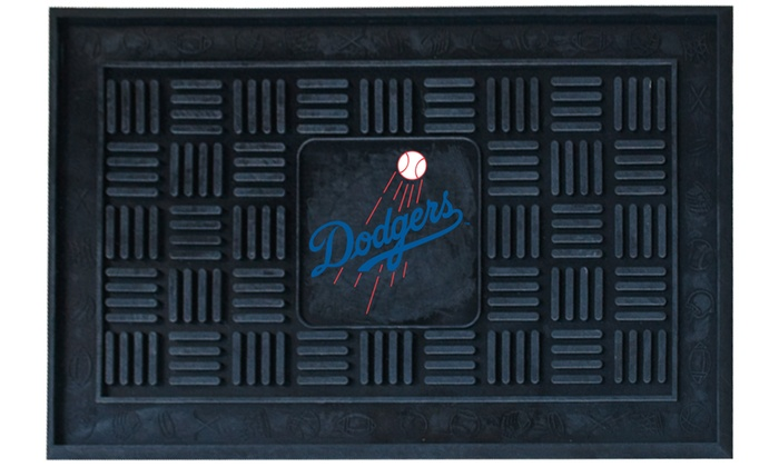 Los Angeles Dodgers Vinyl Door Mat: Los Angeles Dodgers Vinyl Door Mat
