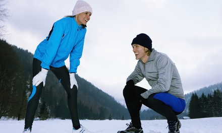 10 or 20 Winter Warrior Boot-Camp Classes at V3 Outdoor Fitness (Up to 76% Off)