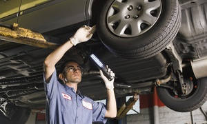 Barrack rd tyres ltd: 54-Point Car Service with Optional Oil and Filter Change at Barrack Road Tyres (Up to 77% Off)
