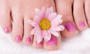Ultrasalon: One or Two Mani-Pedis and Paraffin Hand Treatments at Ultrasalon (Up to 40% Off)