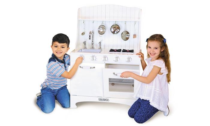 Cucina giocattolo toytopia groupon for Accessori cucina giocattolo