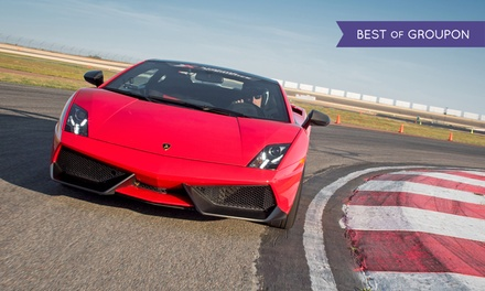 Three-Lap Drive or Ride-Along in an Exotic Supercar on a Real Racetrack from Xtreme Xperience (Up to 54% Off)