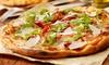 Pizza alla carta più birra alla spina