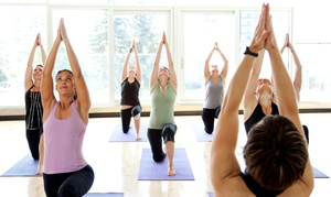 Sukha Yoga: 10- or 20-Class Pass at Sukha Yoga (Up to 76% Off)