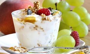 BACIO NERO sede centrale: Sugar bowl con200 cl di yogurt piùtopping a scelta da Bacio Nero (sconto fino a 56%)
