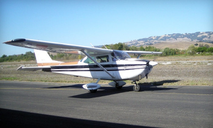 Heloventure - Petaluma: $169 for a Scenic Airplane Tour with Mimosas for Two from Heloventure in Petaluma ($352 Value)