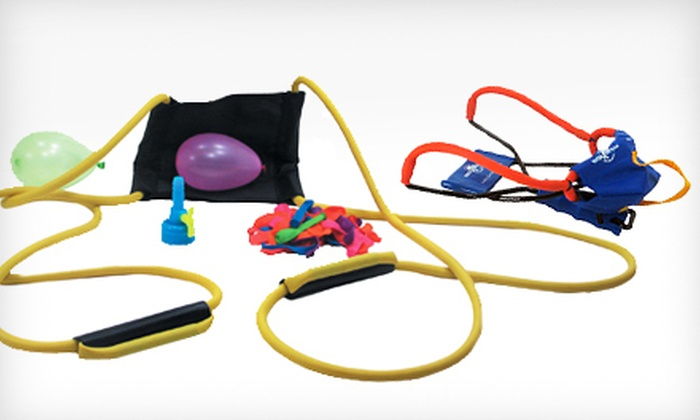 Water-Balloon Launcher Pack: $25 for a Water-Balloon Launcher Pack ($45.98 List Price)