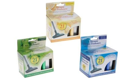 Packs de hasta 60 ambientadores para aspiradora (envío gratuito)
