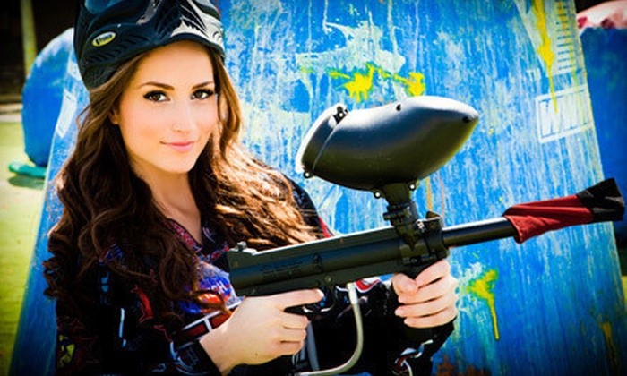 Paintball Tickets - Multiple Locations: $30 for All-Day Paintballing and Equipment Rental for Six from Paintball Tickets (Up to $240 Value)