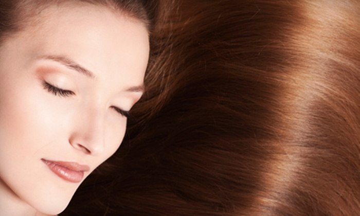 Advance Cut Hair Group - Downtown: One, Two, or Three Pure Brazil Brazilian Blowout Treatments at Advance Cut Hair Group (Up to 72% Off)