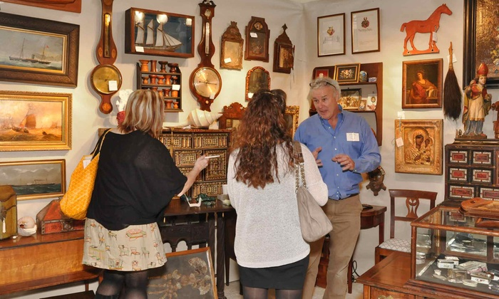 The Ellis Boston Antique Show - South End: Weekend Passes for One or Two to The Ellis Boston Antique Show on October 25–27 (Up to Half Off)