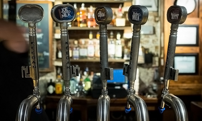 Keegan Ales - Kingston: Beer Tasting for Two or Four with Appetizers at Keegan Ales (Up to 41% Off)