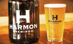 Harmon Tap Room: Burgers or Grinders with Craft Beer for Two or Four at Harmon Tap Room (Up to 43% Off)