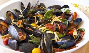 RISTORANTE PIZZERIA NAPPINO: Menu di pesce con bottiglia di vino per 2, 4 o 6 persone da Ristorante Nappino (sconto fino a 57%)