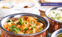 Two-Course Indian Meal For Two or Four from £16 at Spice Lounge (Up to 59% Off)
