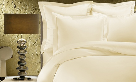 1,000TC Egyptian Cotton Duvet Cover and Two Pillow Shams