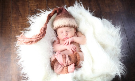 Infant Portrait Series with Four, Five, or Six Photo Shoots at Divine Portrait Boutique (Up to 90% Off)